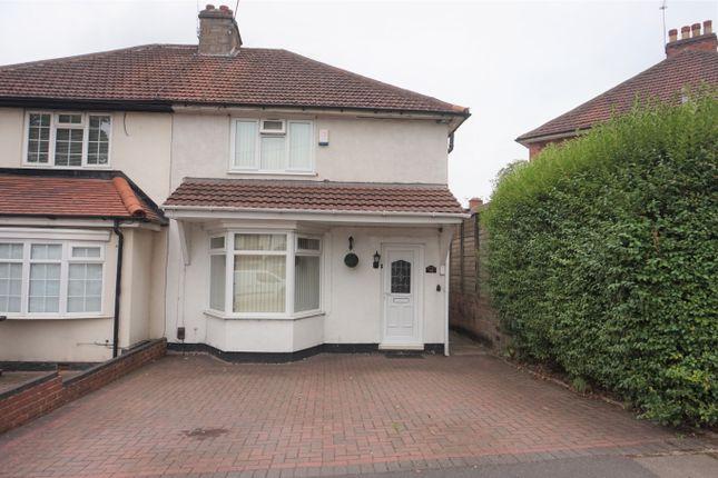 Thumbnail Semi-detached house for sale in Farley Road, Erdington, Birmingham