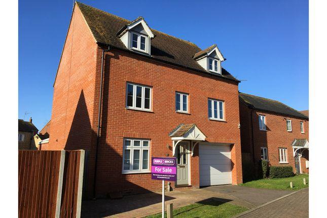 Thumbnail Detached house for sale in Finbracks, Stevenage