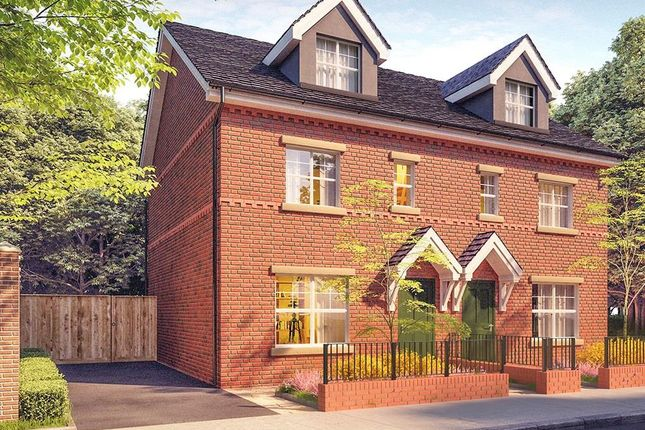 Thumbnail Semi-detached house for sale in Saddlecote Close, Manchester