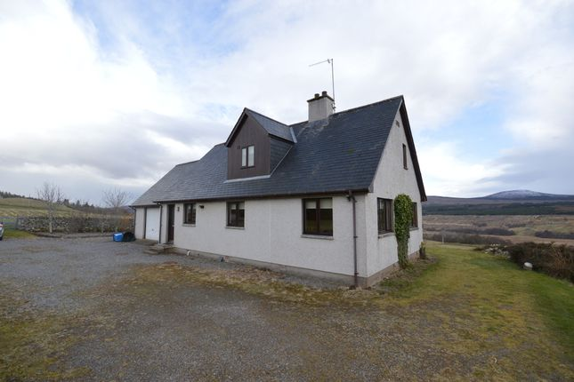 Thumbnail Detached house to rent in Altass, Lairg, Sutherland