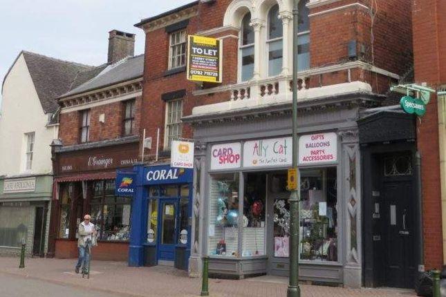 Thumbnail Retail premises for sale in 7 Derby Street, 7 Derby Street, Leek