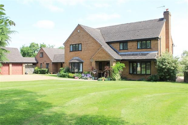 Thumbnail Detached house for sale in Two Oaks, Red Lane, Burton Green
