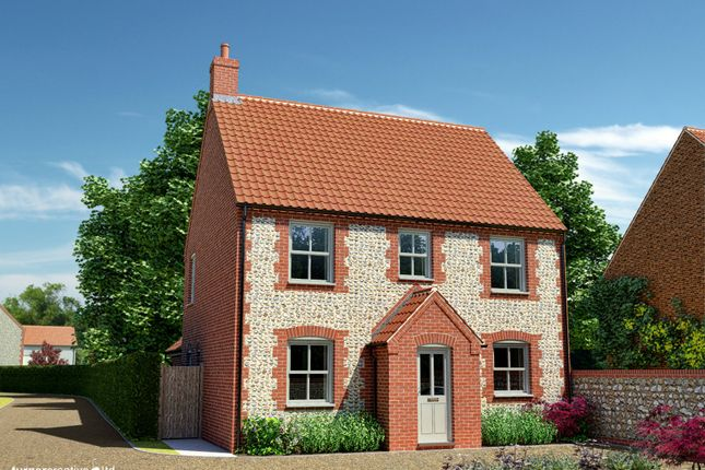 Thumbnail Detached house for sale in Sculthorpe Road, Fakenham