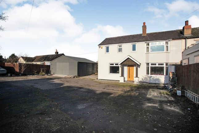 Thumbnail End terrace house for sale in London Road, Stretton On Dunsmore, Rugby