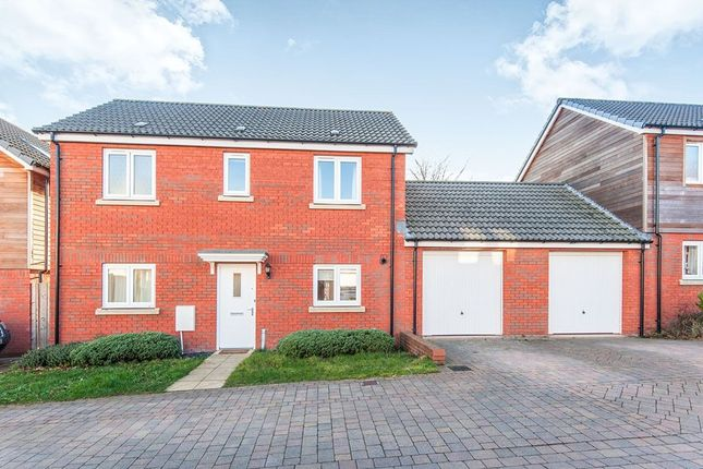 Thumbnail Detached house to rent in Hardy Close, Exeter