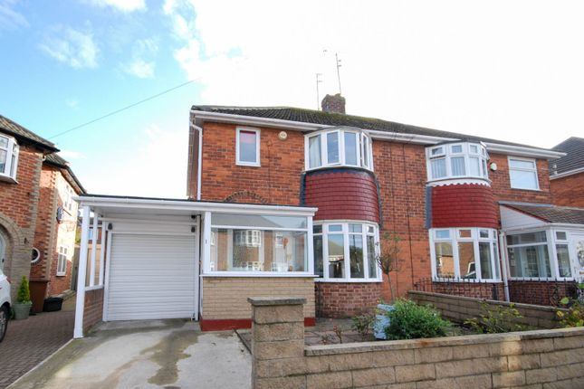 Thumbnail Semi-detached house for sale in Martindale Avenue, Sunderland