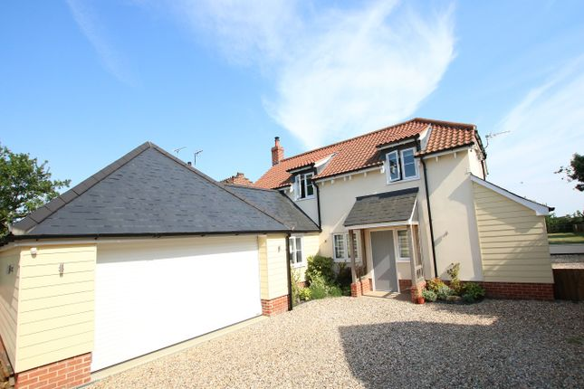 Thumbnail Detached house for sale in Barham Green, Barham, Ipswich, Suffolk