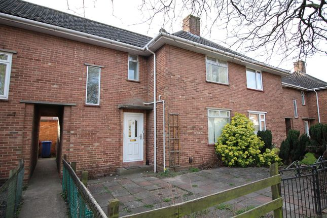Thumbnail End terrace house to rent in Peckover Road, Norwich, Norfolk
