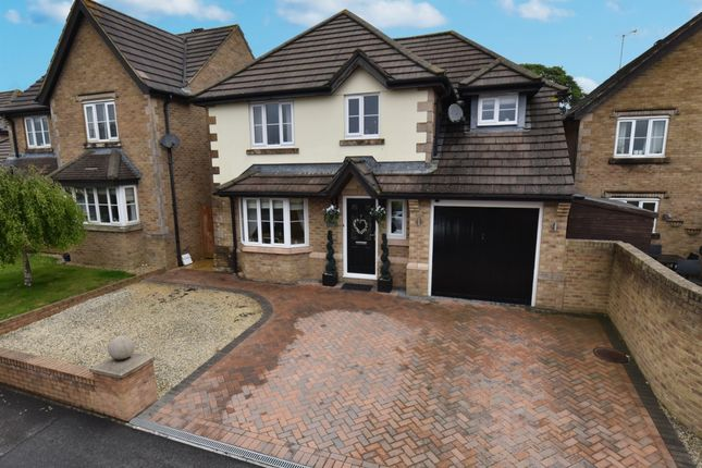 Thumbnail Detached house for sale in Muchelney Way, Yeovil