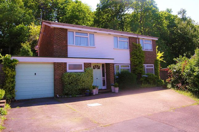 Thumbnail Detached house for sale in Finch Close, Knaphill, Woking