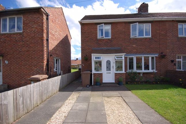 Thumbnail Semi-detached house for sale in Elizabeth Crescent, Dudley, Cramlington