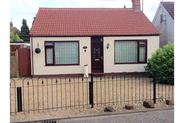 Thumbnail Detached bungalow for sale in Lavender Road, King's Lynn