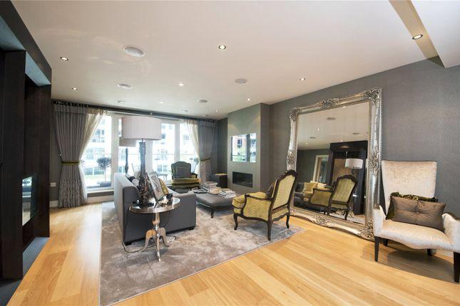 Thumbnail Flat for sale in Banyan House, Lensbury Avenue, London