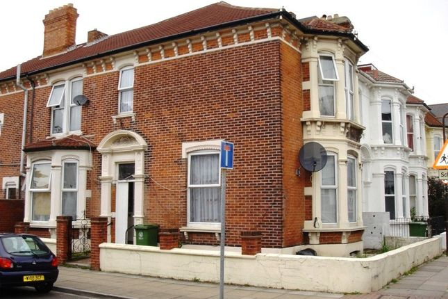 Thumbnail End terrace house to rent in St. Ronans Road, Southsea