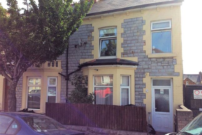 Thumbnail End terrace house for sale in St Marys Avenue, Barry