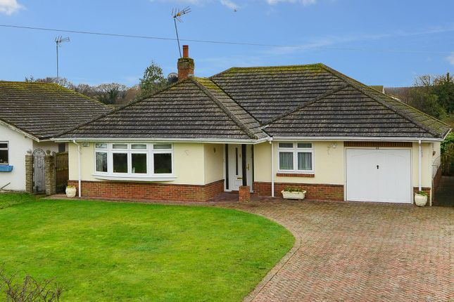 Thumbnail Detached bungalow for sale in Grasmere Road, Chestfield, Whitstable
