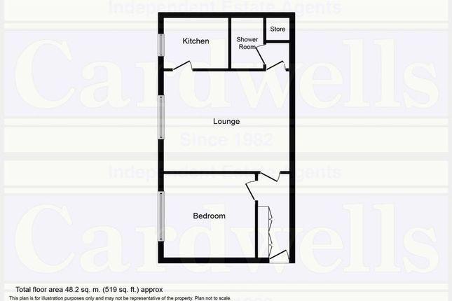 Floor Plan of Pole Court, Pole Lane, Bury BL9