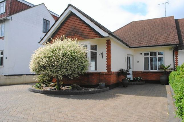 Thumbnail Semi-detached bungalow for sale in Exford Avenue, Westcliff-On-Sea, Essex