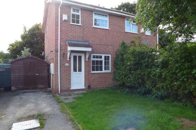 Thumbnail Semi-detached house for sale in Wolverley Grange, Alvaston, Derby