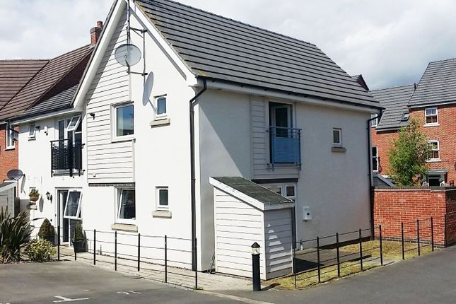 Thumbnail End terrace house to rent in Brompton Road, Leicester