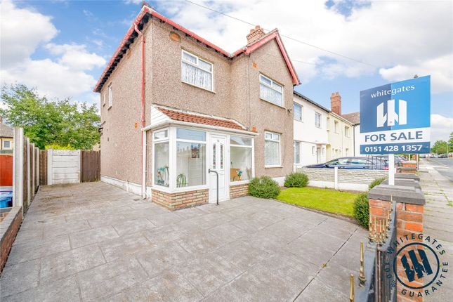 Thumbnail End terrace house for sale in Caldwell Road, Liverpool