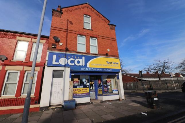 Thumbnail Flat to rent in Linacre Lane, Bootle
