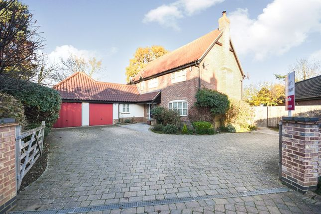 Thumbnail Detached house for sale in Millers Yard, Barningham, Bury St. Edmunds