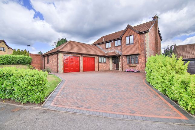 Thumbnail Detached house for sale in Brambling Drive, Thornhill, Cardiff