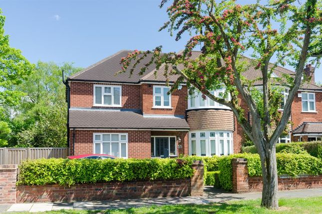 Thumbnail Semi-detached house for sale in Ellesboro Road, Harborne, Birmingham