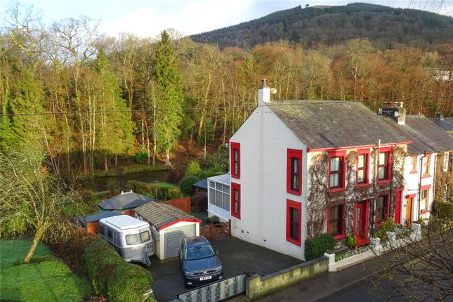 Thumbnail End terrace house for sale in Brooklyn House, Penrith Road, Keswick, Cumbria