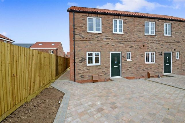Thumbnail End terrace house for sale in Chapel Street, Hambleton, Selby