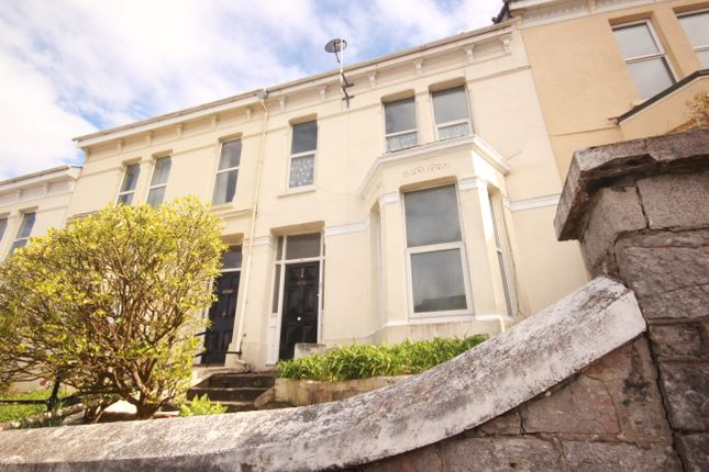 Thumbnail 4 bed terraced house to rent in Furzehill Road, Mutley, Plymouth