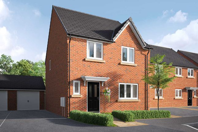 "Thumbnail Detached house for sale in ""The Calder"" at Poppy Drive, Sowerby, Thirsk"