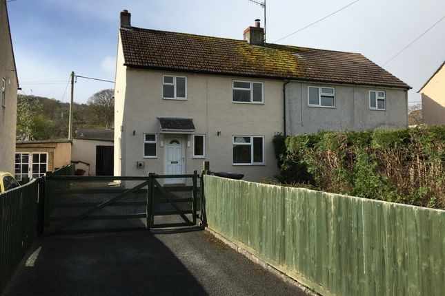 Thumbnail Semi-detached house to rent in Groessford, Llangynidr