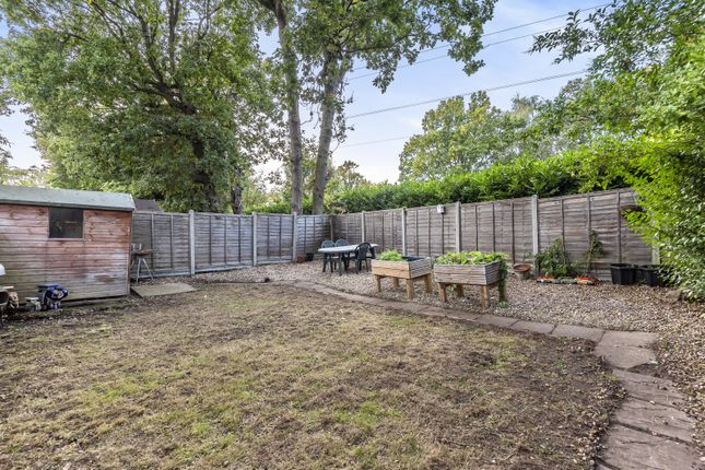 Garden of Birchwood Road, West Byfleet KT14