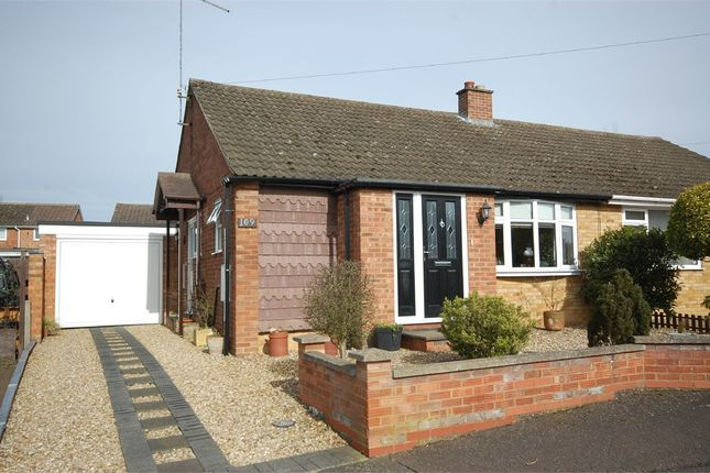 Thumbnail Semi-detached bungalow for sale in Hinton Road, Kingsthorpe, Northampton