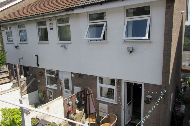 Thumbnail End terrace house for sale in Llancayo Park, Bargoed