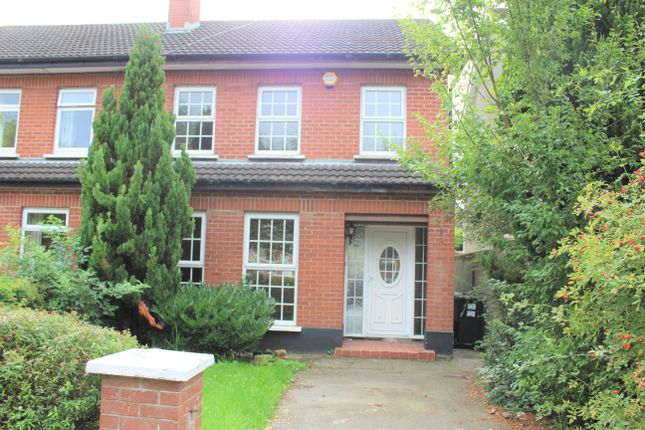Thumbnail Semi-detached house for sale in 108 Roseville, Naas, Kildare
