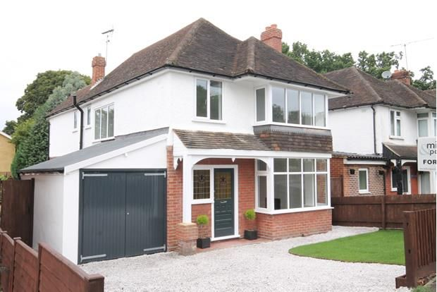 Thumbnail Detached house for sale in Salisbury Road, Farnborough