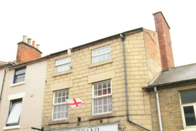 Thumbnail Flat to rent in King Street, Belper