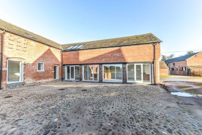 Thumbnail Barn conversion for sale in Swan Farm Lane, Audlem Road, Woore, Crewe