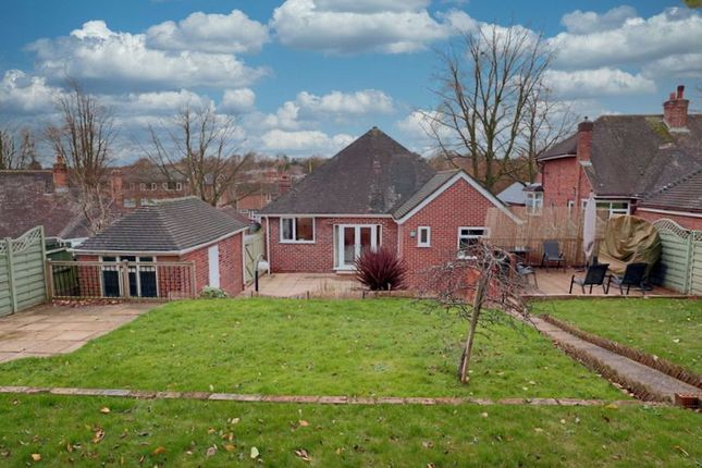Thumbnail Detached bungalow for sale in Stafford Avenue, Clayton, Newcastle-Under-Lyme