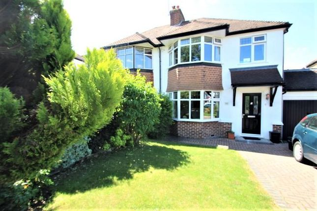 Thumbnail Semi-detached house to rent in Grange Road, Orpington, Kent