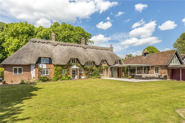 Thumbnail Detached house for sale in Higher Street, Iwerne Minster, Blandford Forum, Dorset