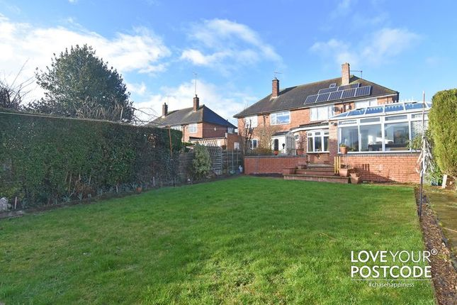 Thumbnail Semi-detached house for sale in Meadow Brook Road, Bournville Village Trust, Birmingham