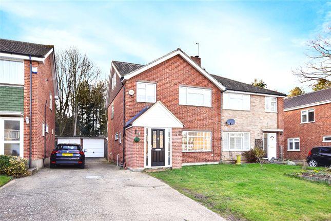 Thumbnail Semi-detached house for sale in Eden Road, Joydens Wood, Kent