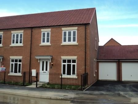 Thumbnail End terrace house to rent in Sealand Way Kingsway, Quedgeley, Gloucester