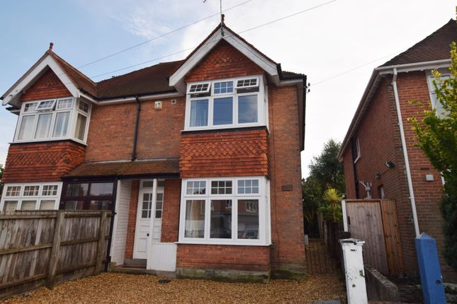 Thumbnail Semi-detached house to rent in Parkstone Avenue, Parkstone, Poole
