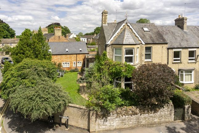 Thumbnail End terrace house for sale in Herne Road, Oundle, Peterborough, Cambridgeshire