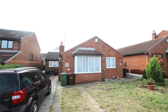 Thumbnail Detached bungalow for sale in Radford Park Avenue, South Kirkby, West Yorkshire